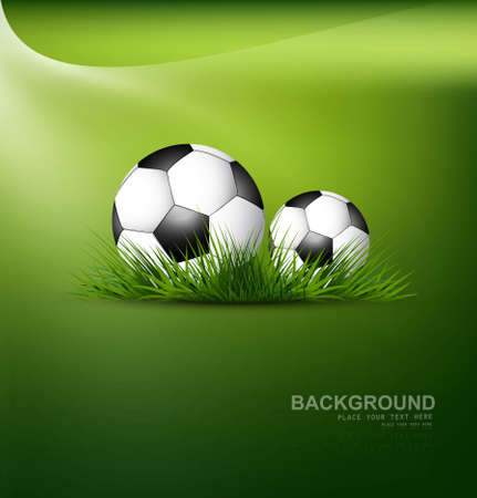 abstract football green grass colorful background vector Vector