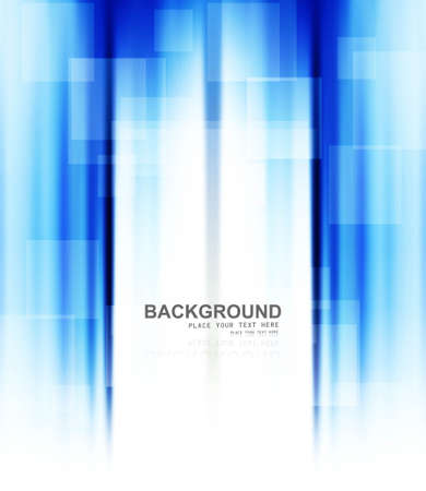 abstract business blue colorful technology background vector Stock Vector - 18838460