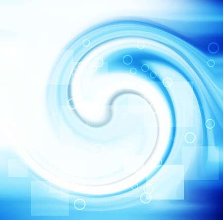 abstract stylish blue swirl  vector wave design Stock Vector - 18838756