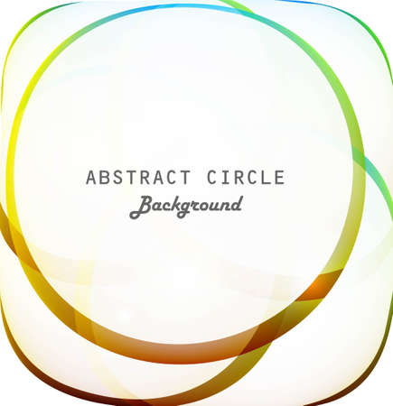 abstract colorfull circle shiny vector background Stock Vector - 18881249