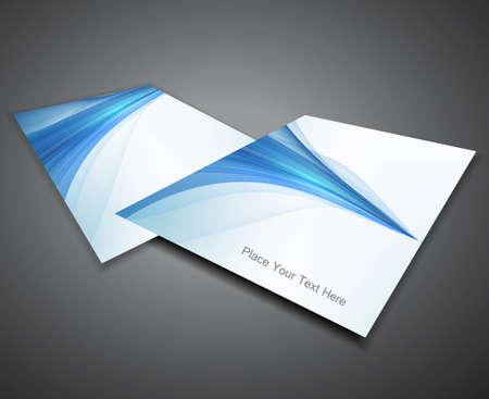 abstract Professional business brochure design presentation Vector design Vector