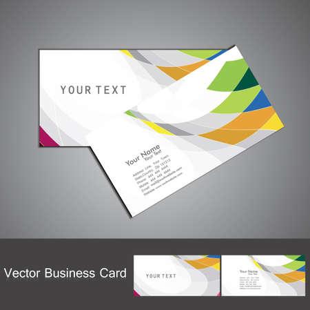 추상 무지개 다채로운 모자이크 비즈니스 카드 세트 벡터 스톡 콘텐츠 - 18905858
