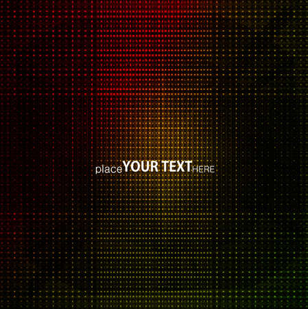 Abstract Multicolor Dots Background vector design art