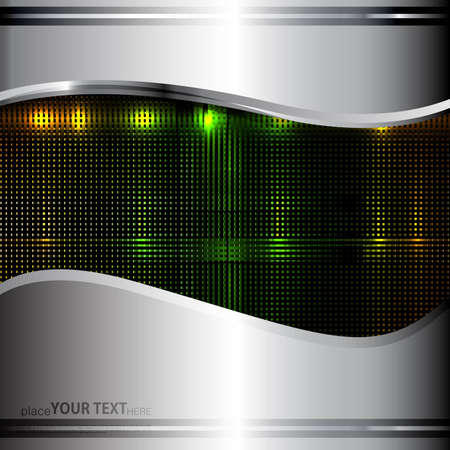 shin: abstract Colorful technology background Illustration