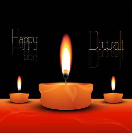vector happy diwali new colorful fantastic design Vector
