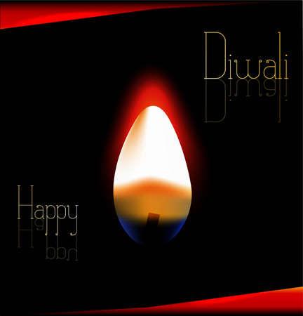 new happy diwali background Vector