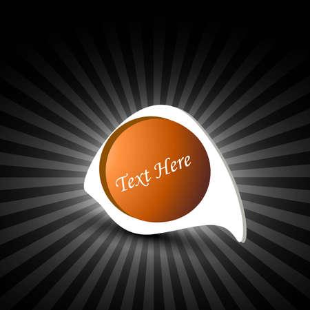 shin: Vector new bubble single icons background