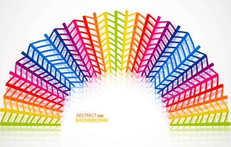 abstract new rainbow Urban designed background Vector illustration Stock Vector - 19164818