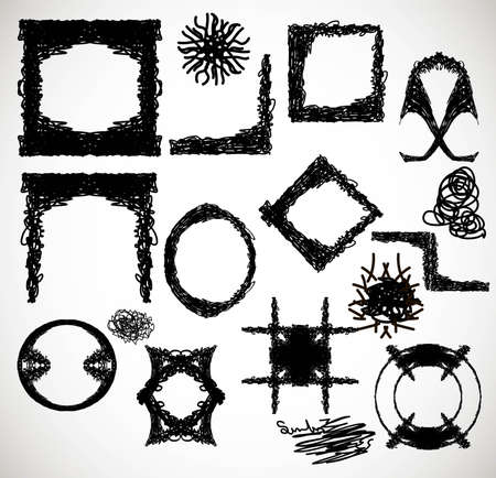 converse: Komische Rahmen Vector design Illustration