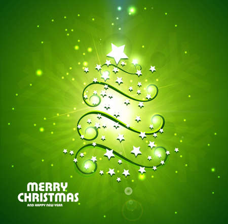 shin: new background star marry Christmas for new year vector design