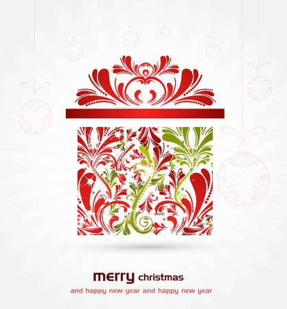 nuovo fantastico sfondo di Natale vettore Vettoriali