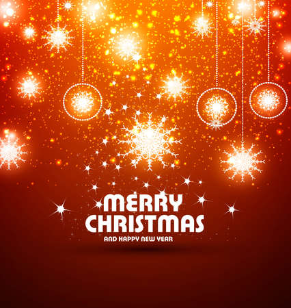A beautiful light colorful background with glow glowing and sparks Christmas vector design Vector