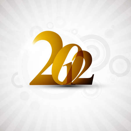 new year 2012 fantastic vector design Vector
