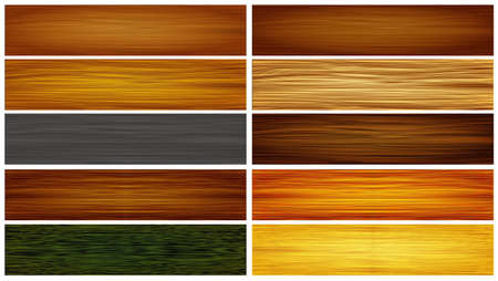 wood textures: Abstract wood textures  header background vector