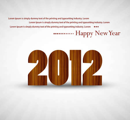 new year 2012 texture background Vector Stock Vector - 19194841