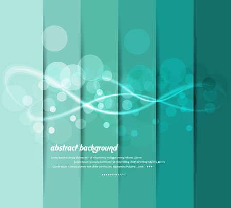 디자인의 다채로운 서클 그래픽 레이아웃 벡터 배경 일러스트