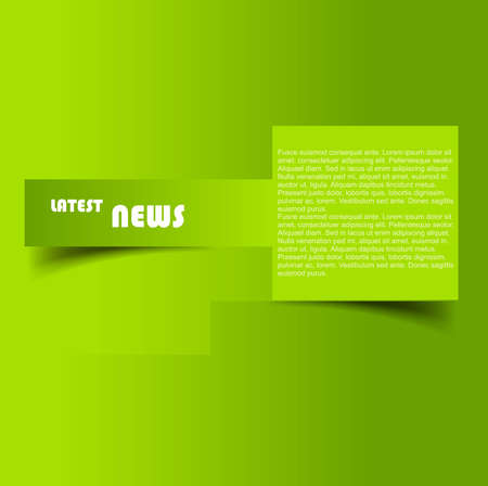 catalogue: Design of advertisement brochure green colorful background