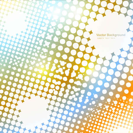 swell: abstract background  halftone vector design