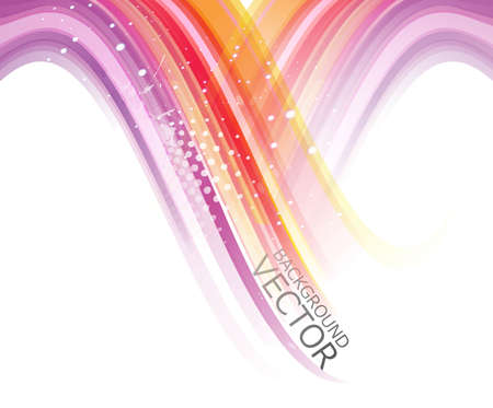 shin: abstract design colorful new rainbow wave vector background
