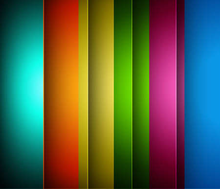 technologie: abstract bright colorful rainbow line wave technology