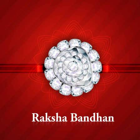 raksha: Bella Raksha Bandhan festival indiano ind� sfondo