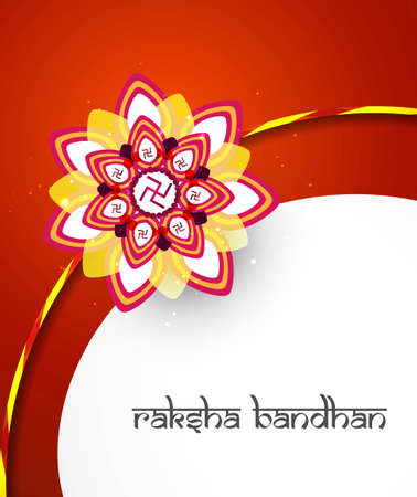 bahan: Raksha bandhan festival creative colorful background