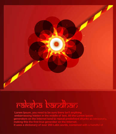 raksha: Stylish raksha bandhan colorful rakhi background