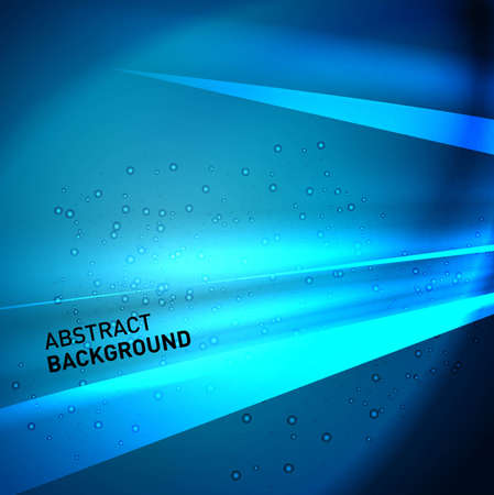 technologie: abstract bright blue colorful speed wave technology background
