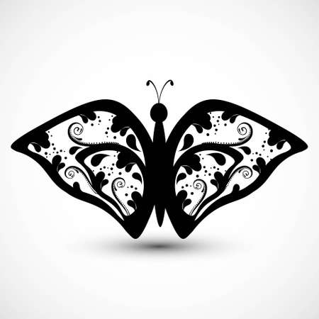 Artistic styles butterfly tatto art