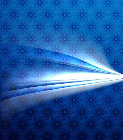 technologie: abstract bright blue colorful line wave technology background