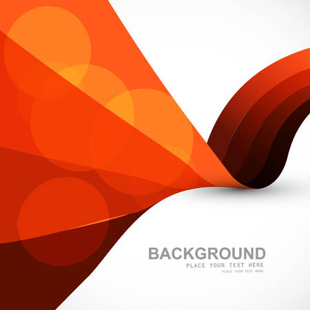technologie: Abstract stylish colorful wave vector background illustration Illustration