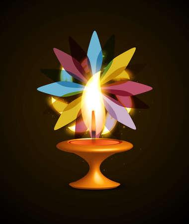 diwali celebration: Diwali Celebration colorful background