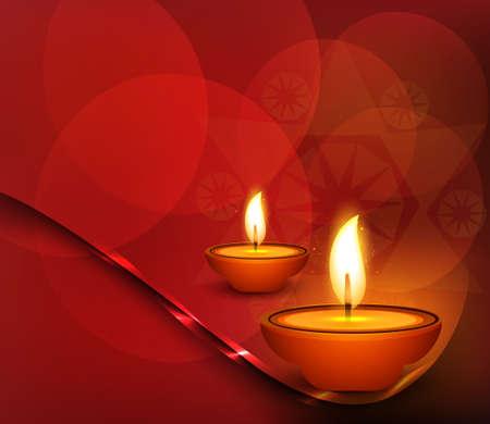 diwali celebration: happy diwali celebration colorful background vector Illustration