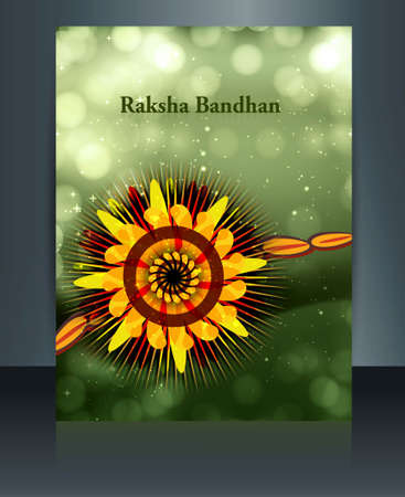 raksha: Fantastic Celebration Raksha Bandhan festival colorful  illustration  Illustration