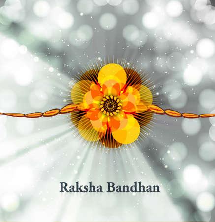 raksha: Festival colorful raksha bandhan design