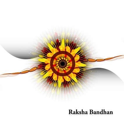 raksha: Raksha bandhan shiny beautiful white background