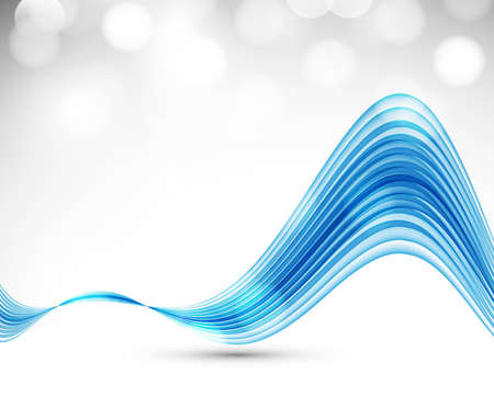 technologie: abstract blue colorful stylish wave background