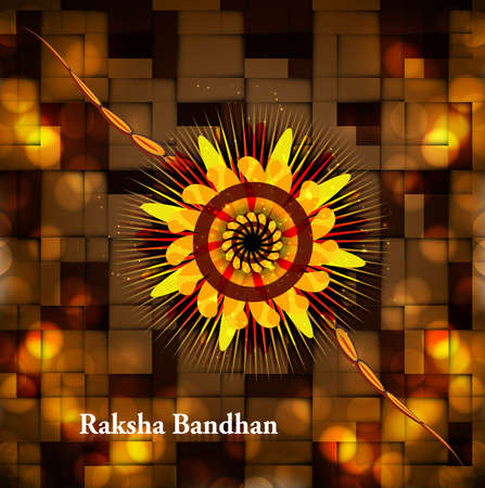 Fantastic beautiful indian festival raksha bandhan illustration Stock Vector - 23519832
