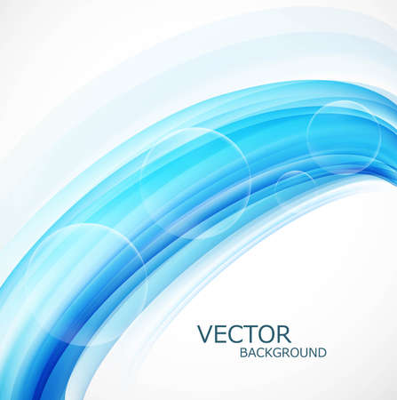 Business blue colorful background wave Vector