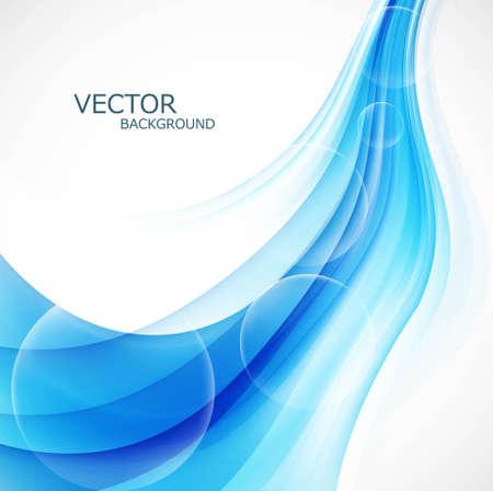 Business blue stylish colorful background wave vector illustration