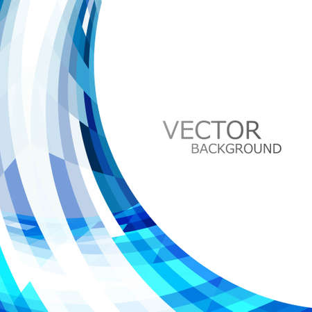 technologie: abstract blue colorful stylish wave technology white background vector