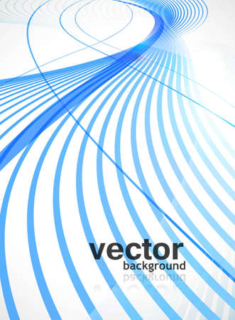 technologie: abstract blue colorful stylish line wave technology background vector
