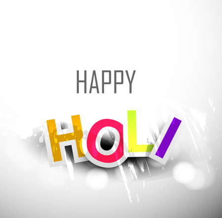 gulal: abstract colorful background for stylish holi text festival design