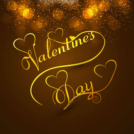 valentino: Beautiful valentines day card colorful background stylish text design for illustration
