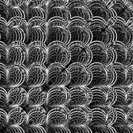 texture of illustration: Vector Seamless geometric creative pattern stylish repeating texture illustration