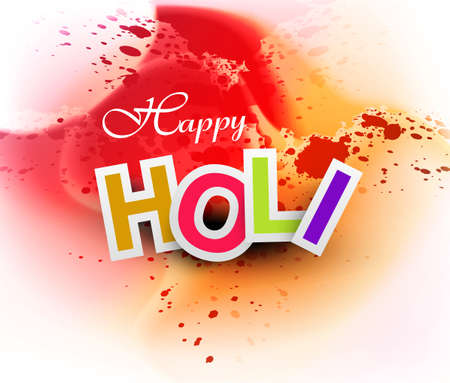 gulal: Beautiful grunge colorful gulal of holi festival vector background