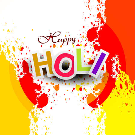 gulal: Beautiful vector background colorful grunge of holi festival design