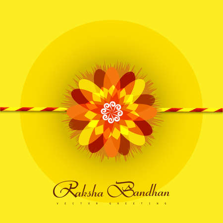 rakshabandhan: Vector beautiful rakhi background on rakshabandhan background