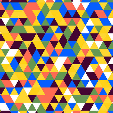Abstract colorful polygon background vector Vetores