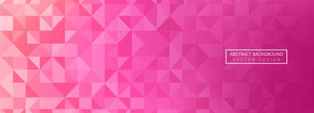 Abstract colorful polygon banner template design